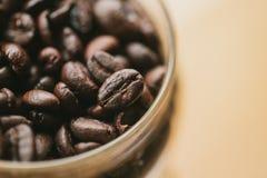 arabica η φωτογραφία υποβάθρου καφέδων διακοσμήσεων φασολιών καφέ με το διάστημα για το κείμενο Στοκ φωτογραφία με δικαίωμα ελεύθερης χρήσης