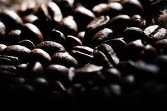 Arabica σύσταση φασολιών καφέ καφετιά Στοκ εικόνες με δικαίωμα ελεύθερης χρήσης