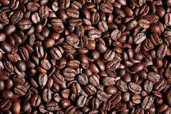 Arabica σύσταση φασολιών καφέ καφετιά Στοκ φωτογραφία με δικαίωμα ελεύθερης χρήσης