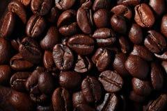 Arabica σύσταση φασολιών καφέ καφετιά Στοκ φωτογραφίες με δικαίωμα ελεύθερης χρήσης