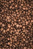 Arabica υπόβαθρο φασολιών καφέ Στοκ φωτογραφία με δικαίωμα ελεύθερης χρήσης