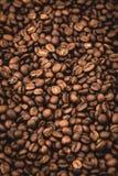 Arabica υπόβαθρο φασολιών καφέ Στοκ Εικόνα
