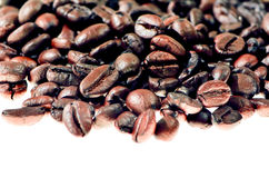 Arabica coffee bean. Beautiful roasted Coffee beans background.Selective focus Stock Photography