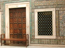 Arabien doppeltes Fenster Stockbilder