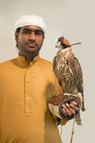 Arabien Falconer Royalty Free Stock Photo