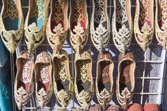 Arabien shoes Stock Images