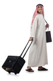 Arabier op zijn reis Stock Foto