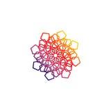 Arabisch abstract embleem Stock Afbeelding
