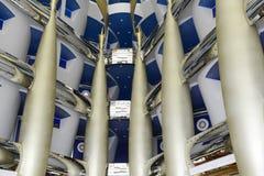 Arabisch al van Burj van het hotel, Doubai Stock Foto's