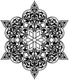 Arabisch cirkelpatroon Royalty-vrije Illustratie