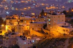 Arabisch Dorp Royalty-vrije Stock Afbeeldingen