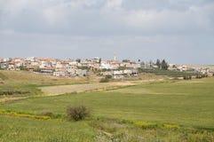 Arabisch dorp Royalty-vrije Stock Afbeelding