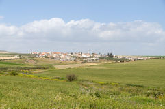 Arabisch dorp Royalty-vrije Stock Foto's