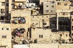 Arabisch dorp Stock Foto
