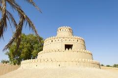 Arabisch Fort in Al Ain, Verenigde Arabische Emiraten Royalty-vrije Stock Foto