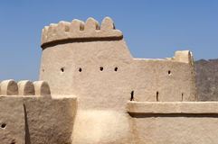 Arabisch fort in Ras al Khaimah Stock Fotografie