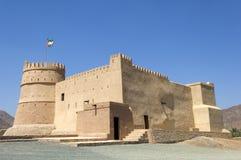 Arabisch fort in Ras al Khaimah Royalty-vrije Stock Foto