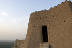 Arabisch Fort in Ras al Khaimah Doubai Royalty-vrije Stock Foto