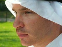 Arabisch Gezicht Royalty-vrije Stock Afbeelding