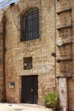Arabisch-Hebreeuws theater, Oude Stad van Jaffa, Tel Aviv stock foto