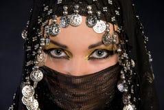 Arabisch meisje royalty-vrije stock foto's