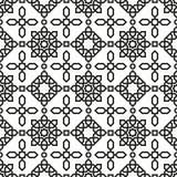 Arabisch naadloos patroon Stock Fotografie