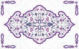 Arabisch overladen element royalty-vrije illustratie