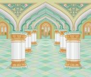 Arabisch paleis stock illustratie