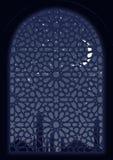 Arabisch Venster Royalty-vrije Stock Afbeeldingen