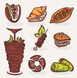 Arabisch voedsel royalty-vrije illustratie