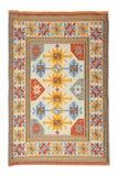 Arabisch zijdetapijt Stock Afbeelding