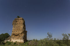 Arabische alte Ruinen Stockbilder