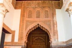 Arabische Architektur Lizenzfreies Stockfoto