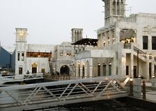 Arabische Architektur dubai stockfotos