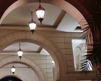 Arabische Architektur Eelement lizenzfreie stockfotografie
