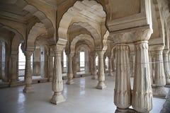 Arabische Art der Spalten in Indien Stockbilder