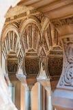 Arabische Art wölbt Taifa Stockfoto