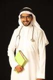 Arabische artsenstudent Royalty-vrije Stock Afbeeldingen