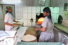 Arabische bakkerij Royalty-vrije Stock Afbeeldingen