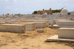 Arabische begraafplaats Stock Afbeeldingen