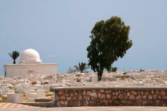 Arabische begraafplaats Royalty-vrije Stock Afbeeldingen
