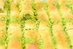 Arabische Bonbons im Markt stockfotografie
