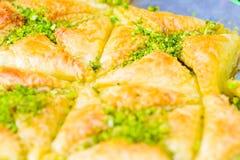 Arabische Bonbons im Markt stockbilder