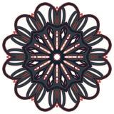 Arabische bunte Mandala Ethnische Stammes- Verzierungen lizenzfreie stockfotografie