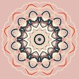 Arabische bunte Mandala Ethnische Stammes- Verzierungen stockbilder