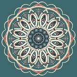 Arabische bunte Mandala Ethnische Stammes- Verzierungen stockfoto