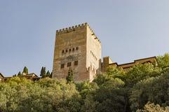 Arabische de stadserfenis van Granada Albaicin Alhambra van het mensdom en van hem Stock Afbeelding