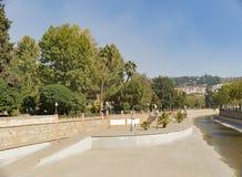 Arabische de stadserfenis van Granada Albaicin Alhambra van het mensdom en van hem Royalty-vrije Stock Foto's