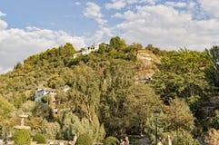 Arabische de stadserfenis van Granada Albaicin Alhambra van het mensdom en van hem Royalty-vrije Stock Fotografie