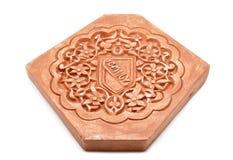 Arabische decoratie, het pleisteren nazari Royalty-vrije Stock Foto